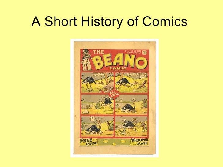 A Short History of Comics