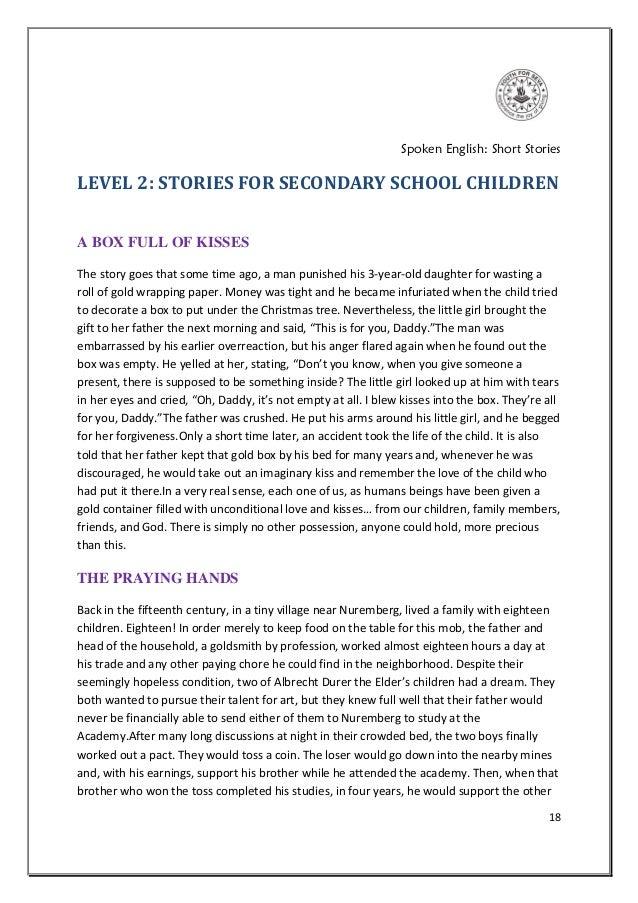 SPOKEN ENGLISH SMALL STORY PDF DOWNLOAD