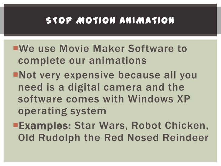 COMPUTER ANIMATIONCan be very expensive because of the complexity of the stunts and animations being doneHuge budgets be...
