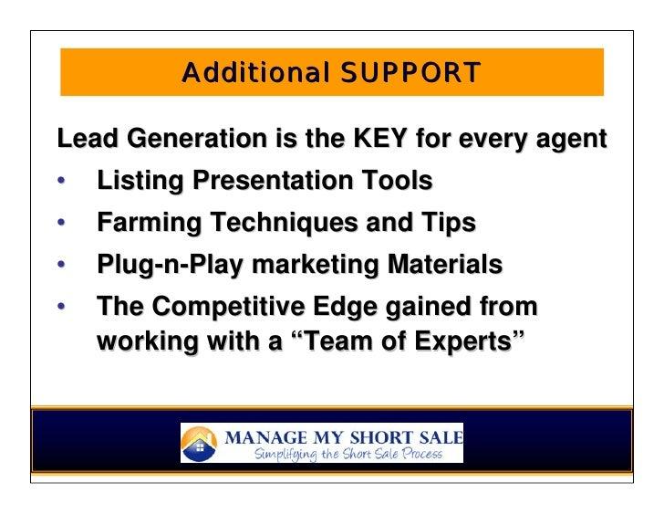 Short Sale Agent Referral Program Presentation