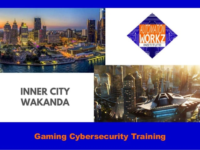 Gaming Cybersecurity Training