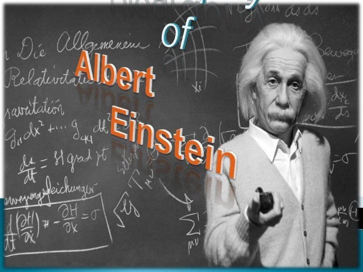 a short report on the life of albert einstein