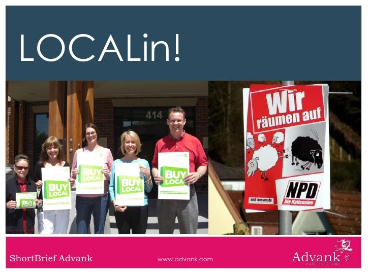 LOCALin!     ShortBrief Advank   www.advank.com