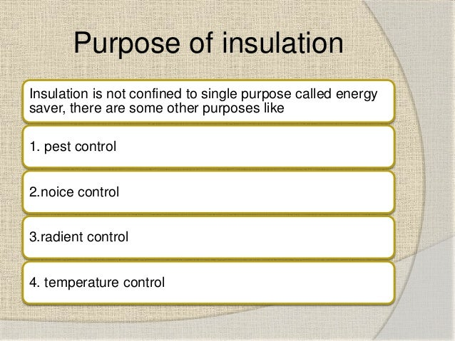 Shortcomings Of Different Types Of Attic Insulation