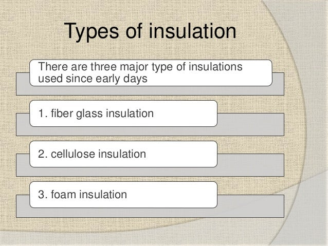 ... insulation; 4.  sc 1 st  SlideShare : type of insulation for attic  - Aeropaca.Org