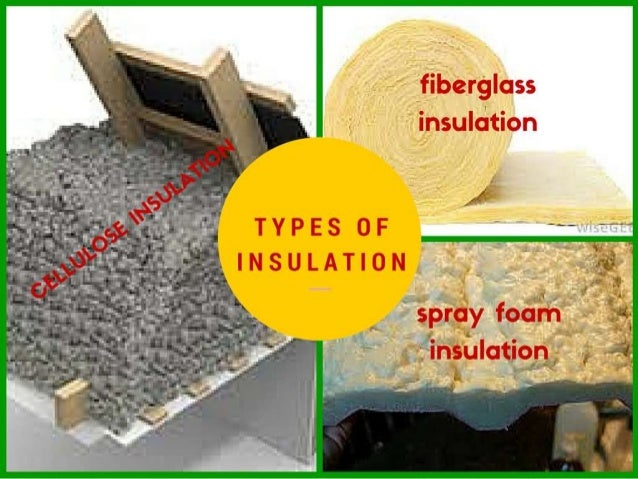 ... 5. Cellulose insulation ... & Shortcomings of different types of attic insulation