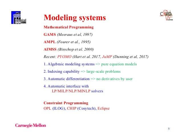 Mixed-integer and Disjunctive Programming - Ignacio E  Grossmann