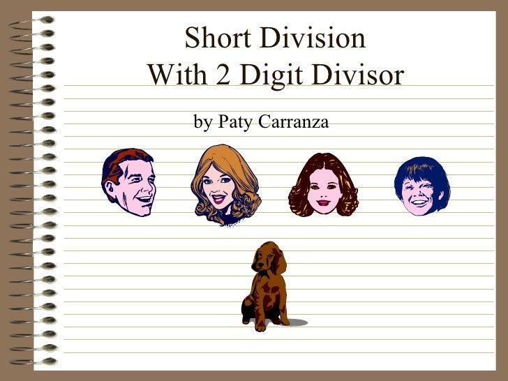 Short Division 1