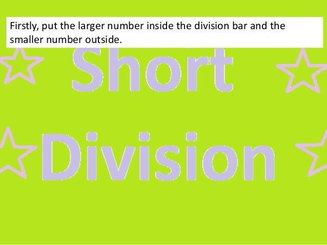 Short Division: 4digit by 2digit (No Remainder)