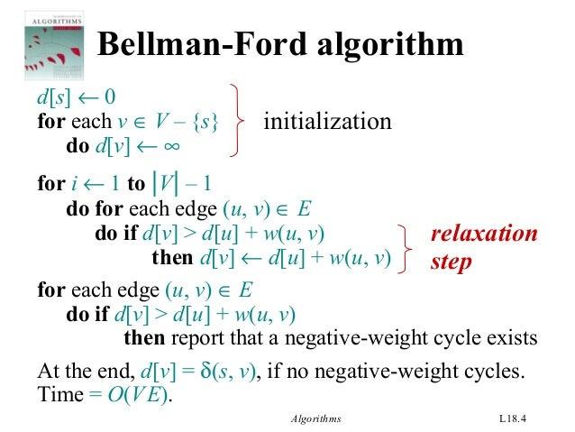 Shortest path algorithms (dijkstra and bellman-ford) simplified.