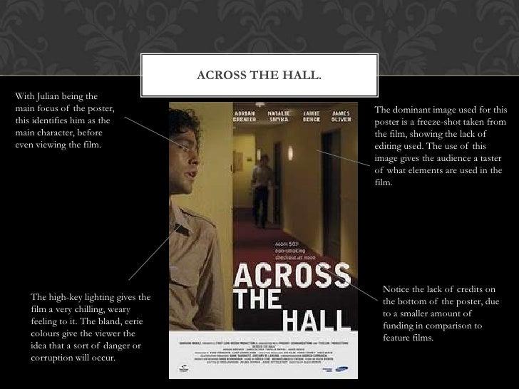 Short Film Poster Analysis