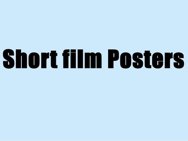 Short film Posters
