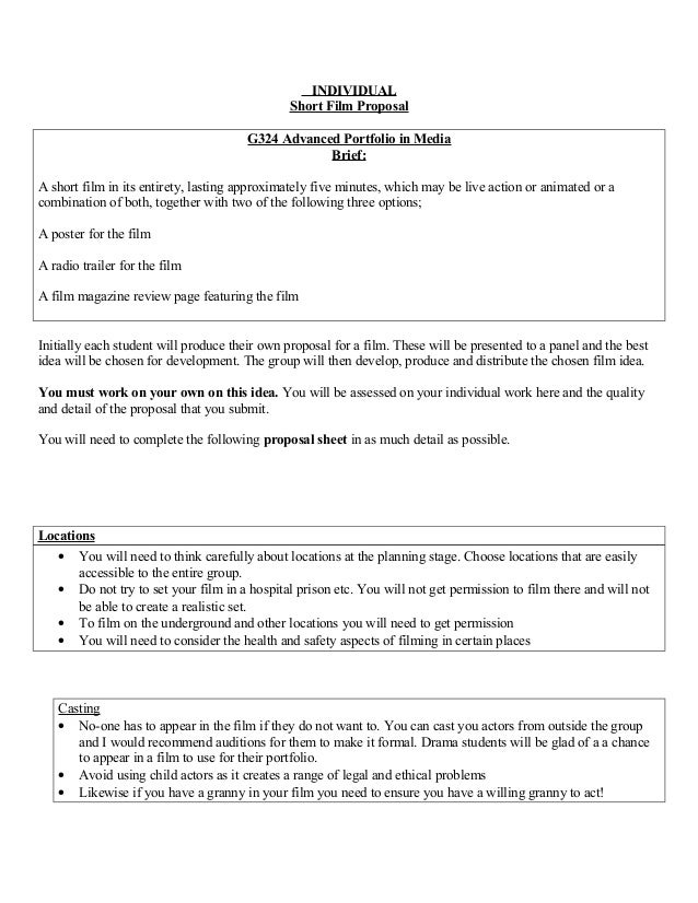 Short film and prescribed text Essay Sample