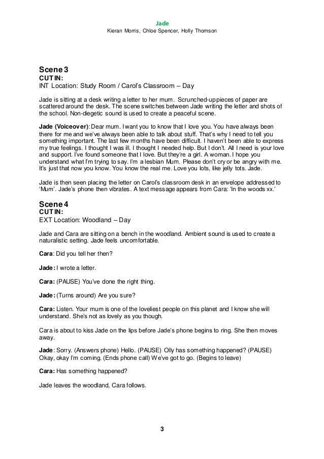 how to create a short film script
