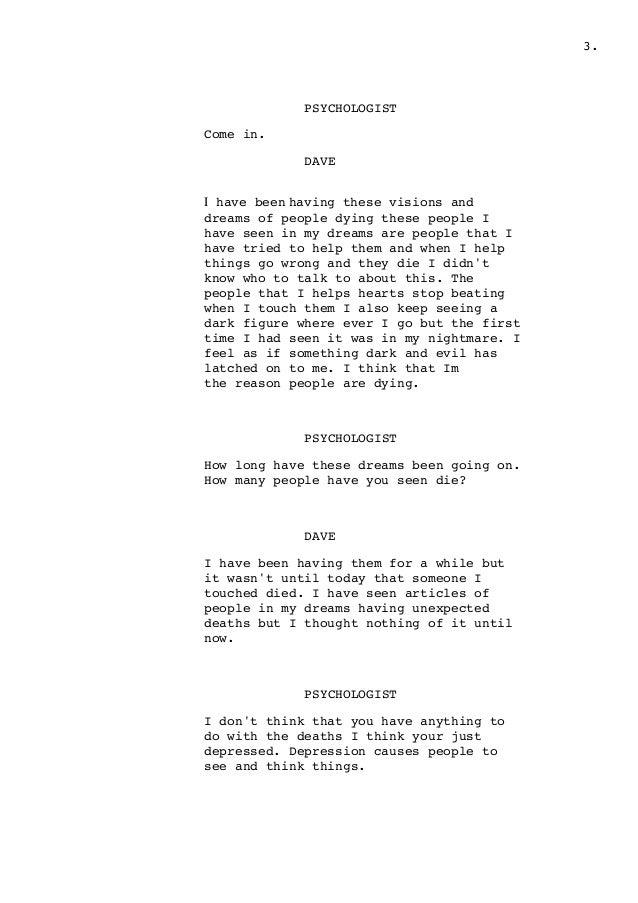 short film script pdf
