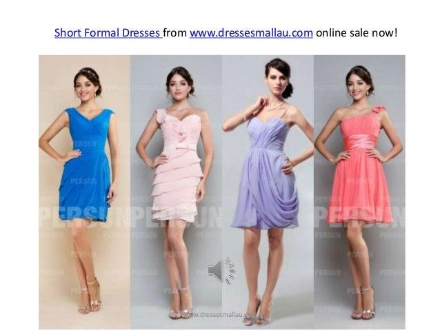 Short Formal Dresses for 2014