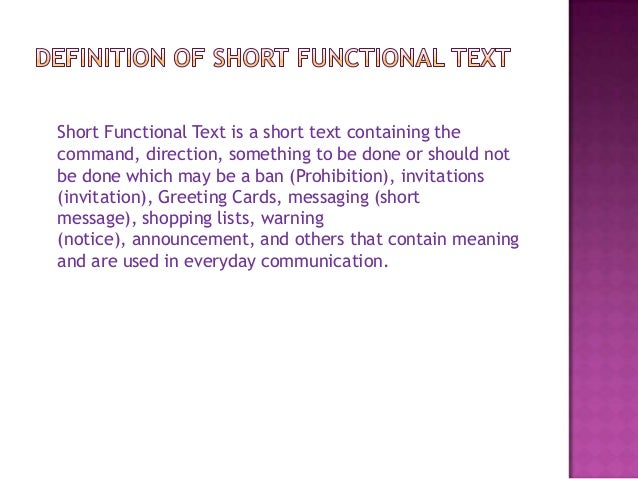Short functional text 2 stopboris Images