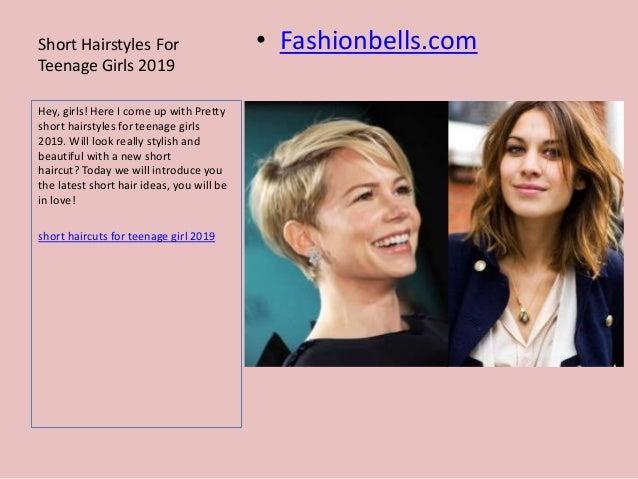 Short Hairstyles For Teenage Girls 2019