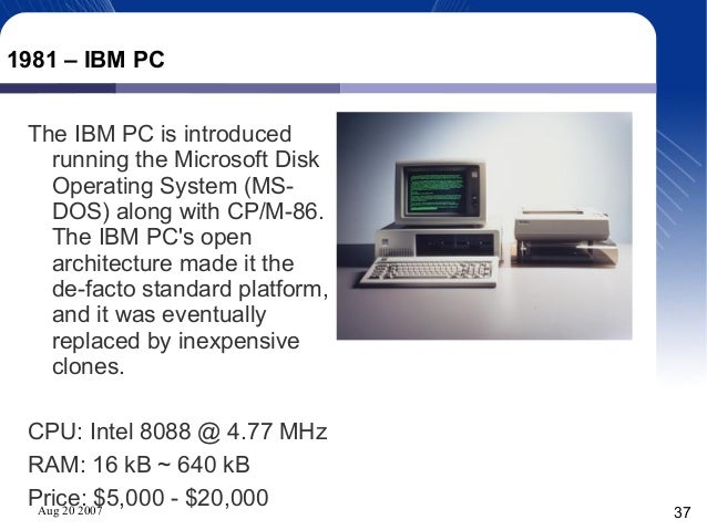 short history of ibm