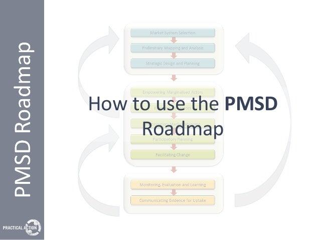 HowtousethePMSD Roadmap