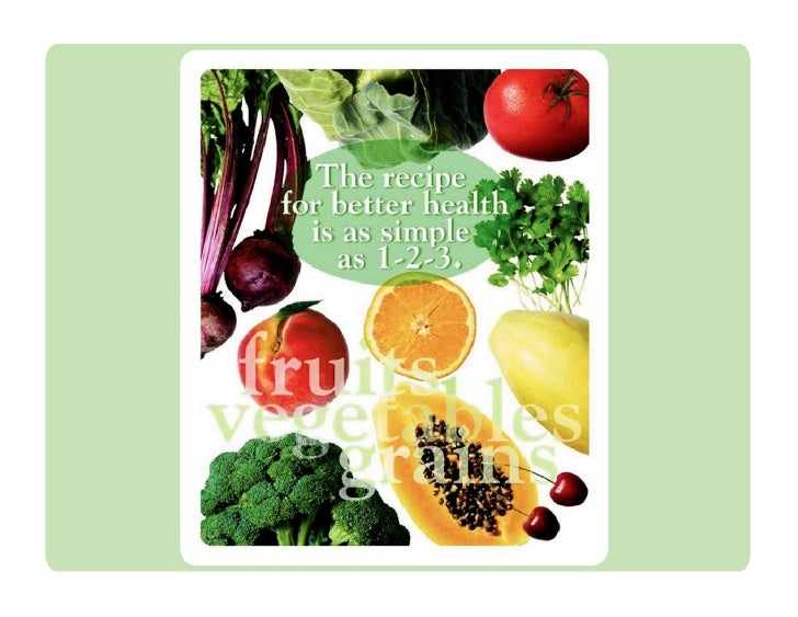Nutrition is the missing piece  in most wellness programs.