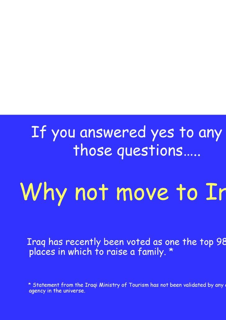 Short Optimized Move To Iraq Slide 2