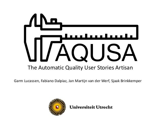 Introduction to AQUSA
