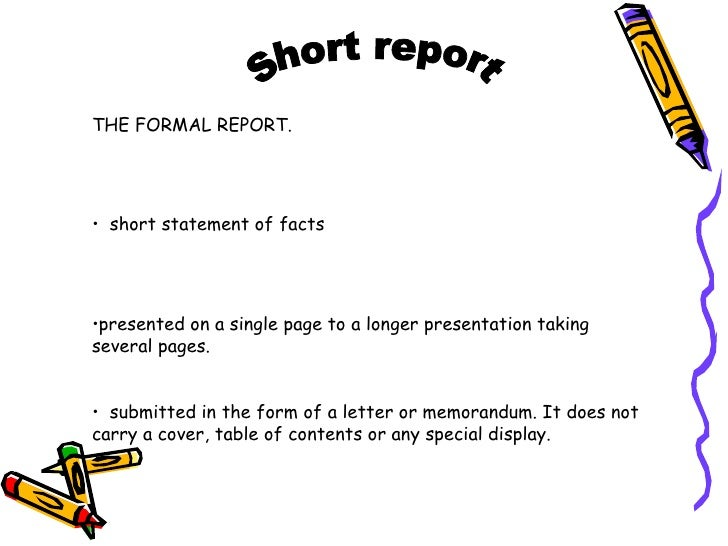 sample cover letter for report