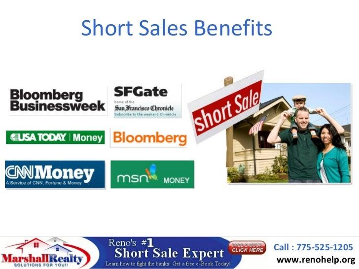 Short Sales Benefits                       Call : 775-525-1205                        www.renohelp.org