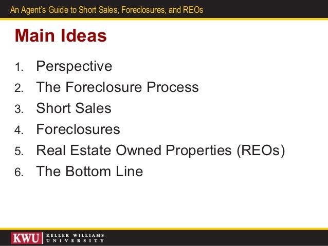 Short sales foreclosures re os instructor power point v3 for Short sale leads for realtors