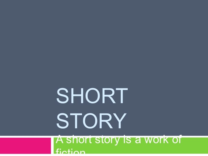 Stylistic analysis of a short story