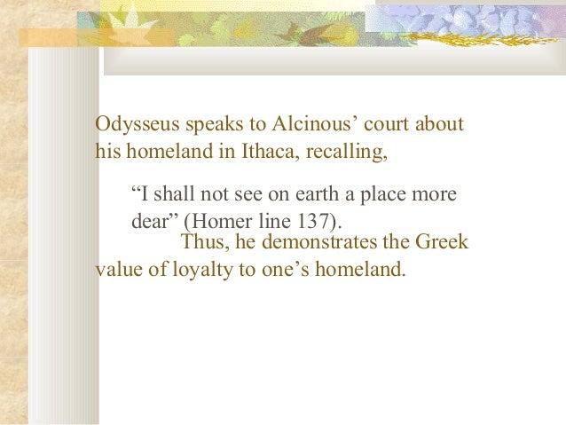 Odyssey theme loyalty essay
