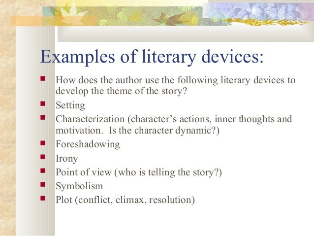 short story literary analysis criteria examples