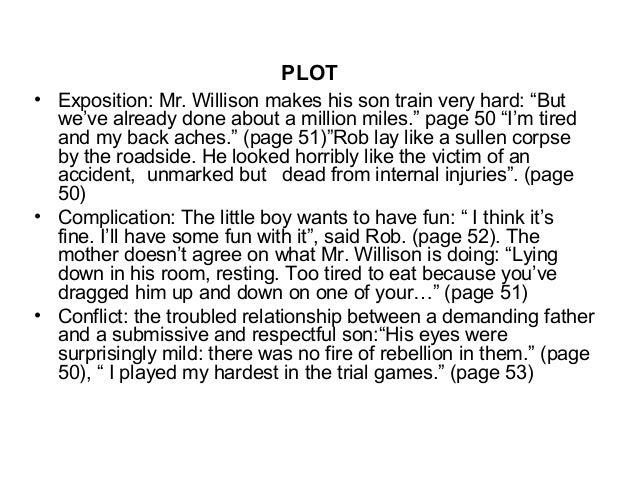 Manhood short story essay assignments