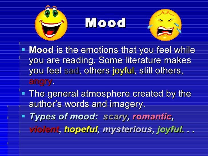 Difference Between Mood and Tone