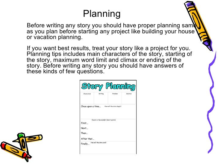 story writing tips Powerpoint with ideas based on those in the igniting writing series by pie corbett, sue palmer and ann webley looks at different elements of a story and gives examples of different ideas that can be used within the classroom.