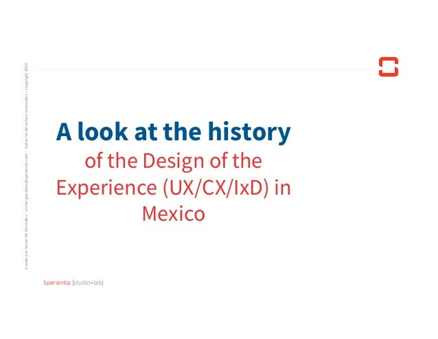 Shall I become a UX, CX, IxD Designer?: - Short talk - Victor M. Gonzalez Slide 2