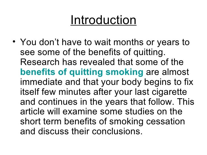 the short guide to quitting smoking [kick the habit: 10 scientific quit-smoking tips] how lungs heal generally speaking, some of the short-term inflammatory changes to the lungs can be reversed when people quit smoking, edelman said.
