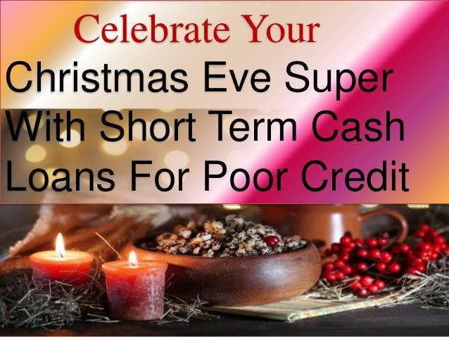 Short Term Loans For Christmas