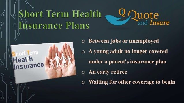Short Term Health Insurance Quotes