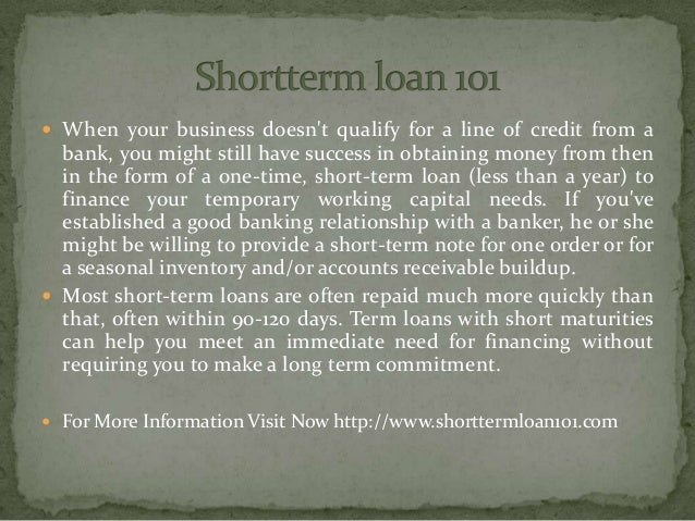  When your business doesn't qualify for a line of credit from a bank, you might still have success in obtaining money fro...