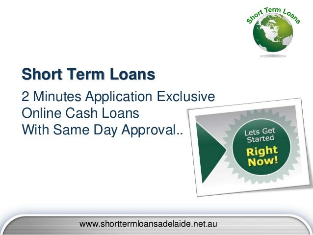 Short Term Loans Adelaide - Cash Help For Adelaide People With Easily…