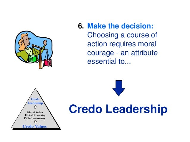 the influence of ethics on the decision making process Second order ethical decision-making in  code of ethics offers a decision-making model that is based on a  decision making process.