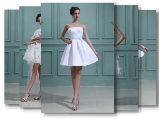 Petite Short Wedding Dress