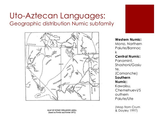 Studies In Uto-Aztecan Grammar (Summer Institute Of ...
