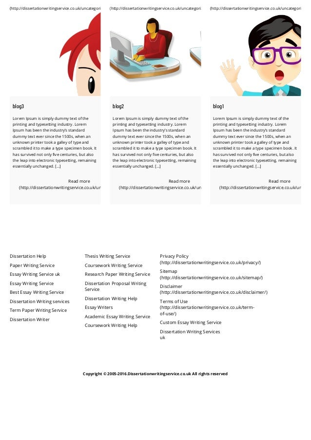 Best uk dissertation writing services