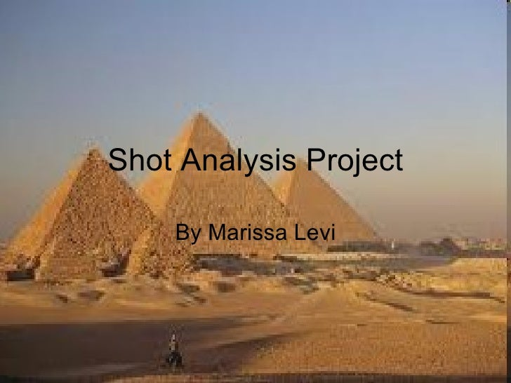 Shot Analysis Project By Marissa Levi