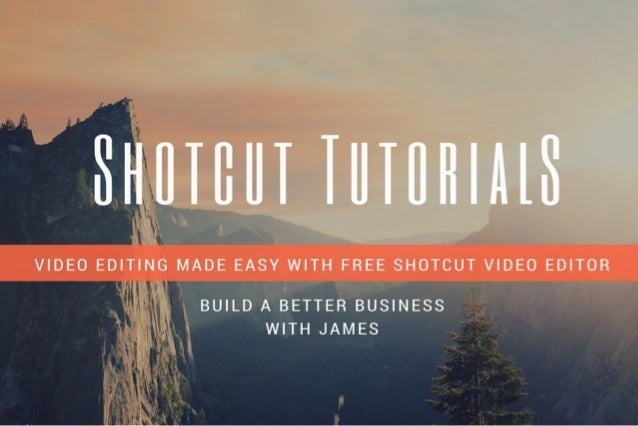 Shotcut Video Editor Tutorials