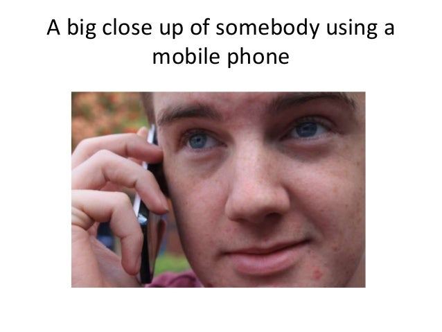 A big close up of somebody using a mobile phone