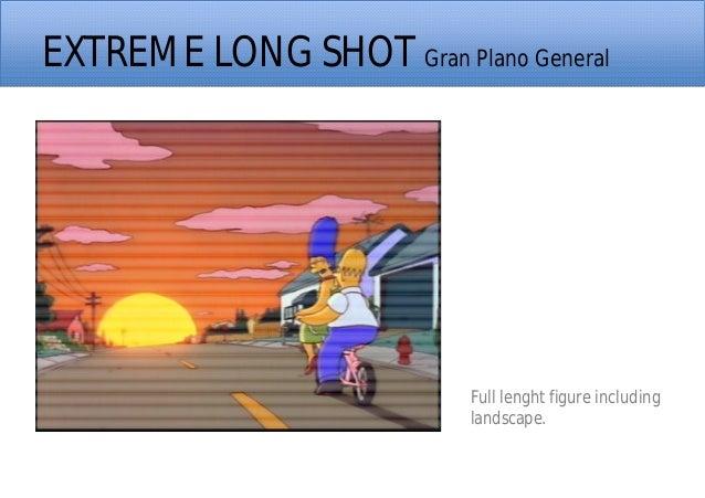 EXTREME LONG SHOT Gran Plano General Full lenght figure including landscape.
